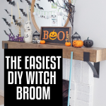 witch broom tutorial