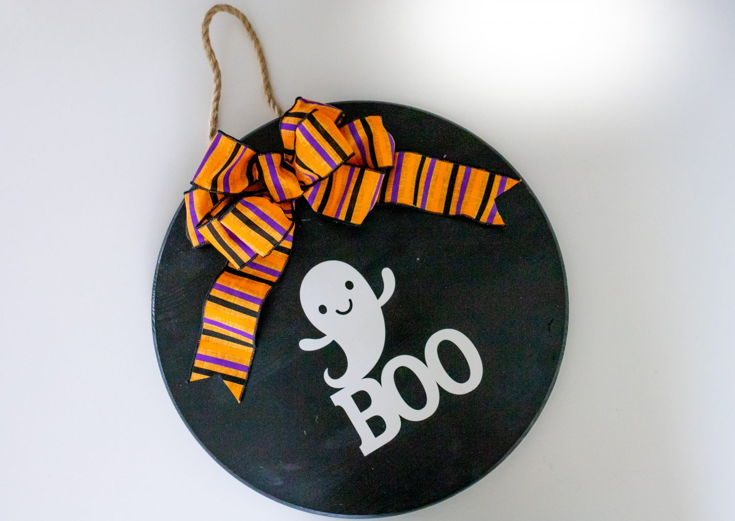 make your own halloween door hanger