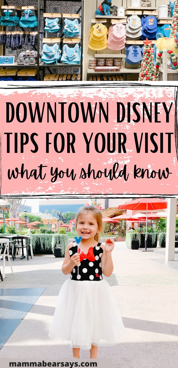 tips for downtown disney