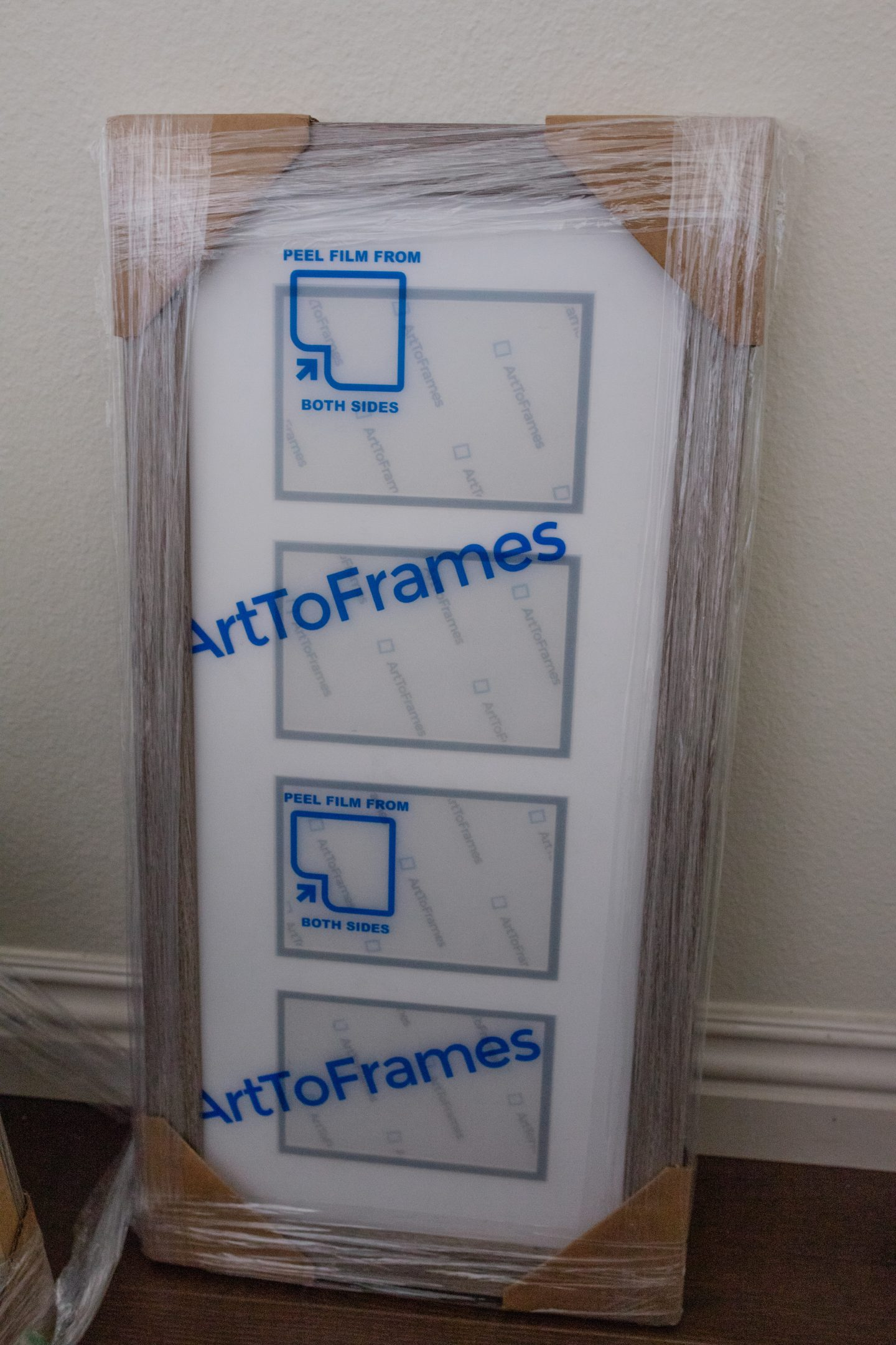 packaging of frames
